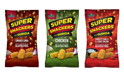 New Orgran Quinoa Super Snackers